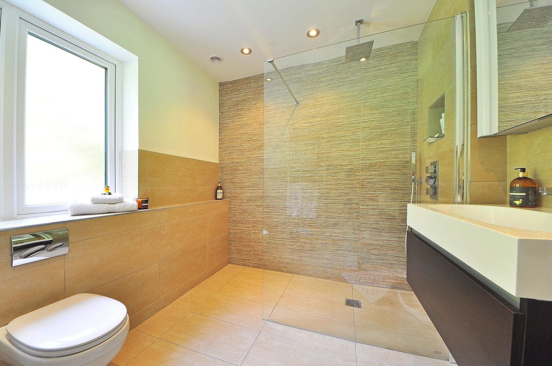 shower replacement installation